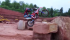 This is what happens when you put Trials riders on Enduro bikes……