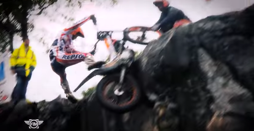 FIM highlights from French Trial GP